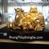 Phật di lặc chiêu tài vàng Y091