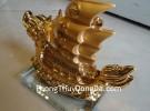 Thuyền vàng kim nhỏ E334