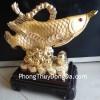 Cá kim long vàng đống tiền H284G