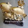 Cá chép vàng 3 con vượt sóng H296G