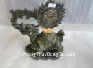 Rùa đầu rồng đá lam ngọc HM124