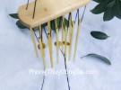 Chuông gió 10 thanh nhôm vàng nhỏ CG1222
