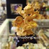 Rồng vàng kim đế gỗ K154M