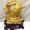 Rồng vàng nguyên bảo lớn G097A