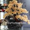 Cây tài lộc phong thủy luân thạch anh vàng lớn KC035