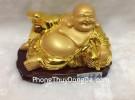 Phật di lặc vàng đế gỗ G137A