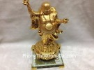 Phật di lặc cầm dơi G149A