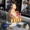 Khỉ vàng ôm châu đỏ H371G