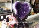 Bông thạch anh tím trái tim H100-13566