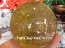 Quả cầu thạch anh vàng GM150-11596