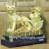 Chó vàng kéo bắp cải C002A