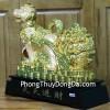 Chó vàng kéo xe cải C003A