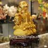 Chó vàng trên túi vàng C009A