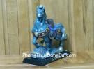 Ngựa kiểu cổ xanh xám C107A
