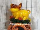 Vua heo vàng cam trên mẫu đơn khủng LN023