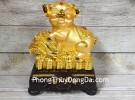 Vua heo vàng ôm bắp cải trên tiền LN031