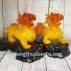 Cặp tỳ hưu vàng cam lớn LN050