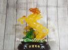 Thần ngựa cam vàng lưu ly LN126
