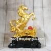 Vua ngựa vàng trên núi mẫu đơn hồng ngọc LN128