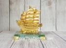 Thuyền buồm song long lướt sóng vàng LN146