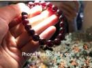 Chuỗi đá hột lưu đỏ S6771-1651