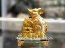 Chuột vàng ôm hũ tiền TM033