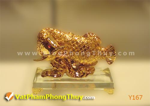 28dd1320fcy Y167.jpg Cá Phong Thủy – biểu tượng của phú quý, giàu sang, may mắn với hơn 20 kiểu dáng đẹp