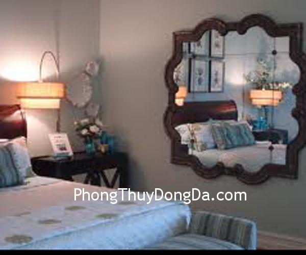 phong ngu Ảnh hưởng của gương trong phòng ngủ