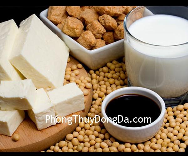 dau nanh Đậu nành lông và các sản phẩm chế biến từ đậu