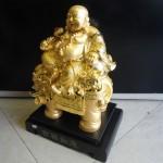 di lac vang H239G 001 150x150 Phật di lặc cưỡi voi H239G