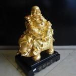 di lac vang H239G 002 150x150 Phật di lặc cưỡi voi H239G