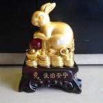 h424 2 150x150 Thỏ vàng châu đỏ trên tiền H424G