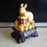 h424 3 150x150 Thỏ vàng châu đỏ trên tiền H424G