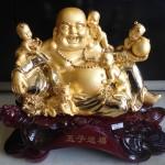 H246 2 150x150 Phật di lặc vàng đồng tử H246G