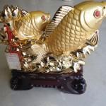 h296 1 150x150 Cá chép vàng 3 con vượt sóng H296G