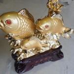 h296 150x150 Cá chép vàng 3 con vượt sóng H296G