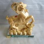 H053 150x150 Dê vàng đống vàng  kim dương vượng tài H053G