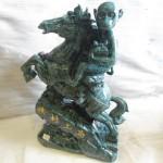 K004 1 150x150 Khỉ ôm túi vàng cưỡi ngựa trên núi  Mã thượng phong hầu K004M