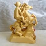 K008 150x150 Khỉ ôm ấn vàng cưỡi ngựa trên thái sơn   Mã thượng phong hầu K008M