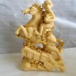 K008 2 150x150 Khỉ ôm ấn vàng cưỡi ngựa trên thái sơn   Mã thượng phong hầu K008M