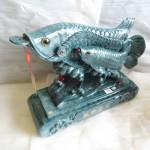 K090 1 150x150 Cá kim long mẫu tử xanh ngọc  tụ tài kim long K090M