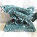K090 2 150x150 Cá kim long mẫu tử xanh ngọc  tụ tài kim long K090M