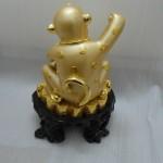 k016 150x150 Khỉ hũ tiền vàng   kim hầu chiêu tài K016M