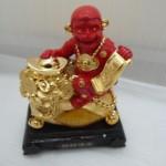 k033 2 150x150 Khỉ đỏ trên núi vàng   Chiêu tài tấn bảo K033M