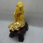 k036 1 150x150 Khỉ ngồi trên túi vàng  tài vận hanh thông K036M