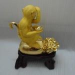 k036 150x150 Khỉ ngồi trên túi vàng  tài vận hanh thông K036M