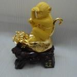 k036 2 150x150 Khỉ ngồi trên túi vàng  tài vận hanh thông K036M