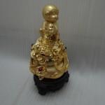 k047 1 150x150 Khỉ dâng vàng trên giỏ vàng  kim hầu tụ bảo K047M