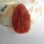 s1131 5 1 150x150 Phật bản mệnh tuổi Thìn đá mã não đỏ S1131 5
