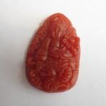s1131 5 2 150x150 Phật bản mệnh tuổi Thìn đá mã não đỏ S1131 5